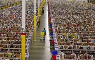 Inside the Cayce, SC Amazon Fulfillment Center